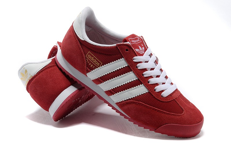 adidas dragon rouge et blanc