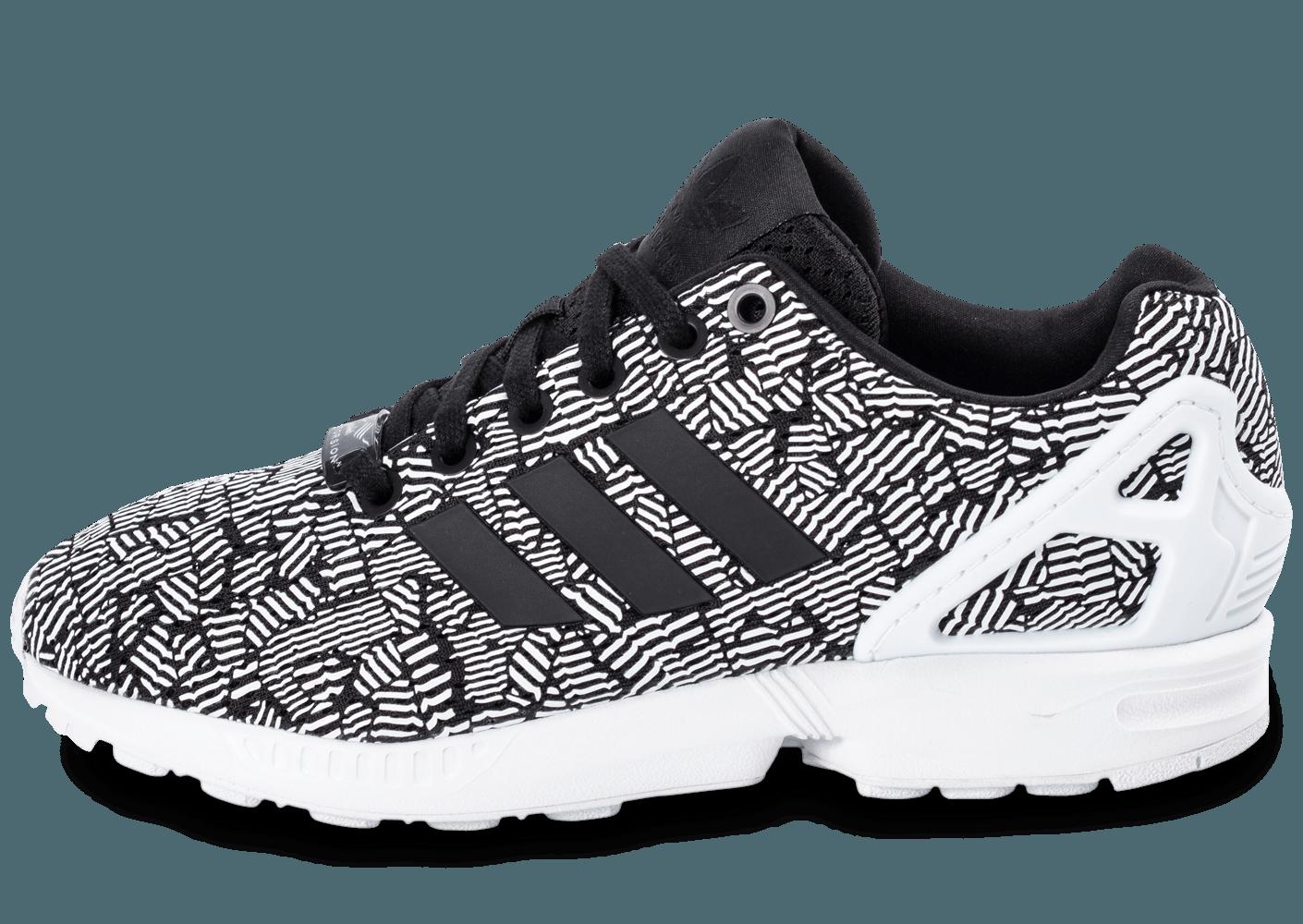 nouveau style 5731b 807d8 adidas flux zx noir et blanche
