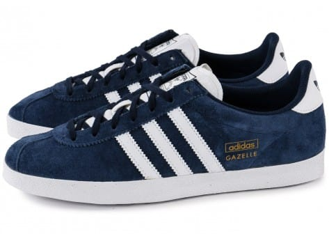 big discount good texture sneakers for cheap adidas gazelle bleu homme