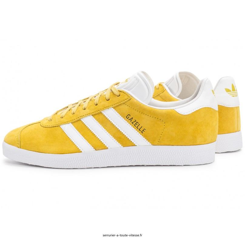 adidas gazelle og femme jaune