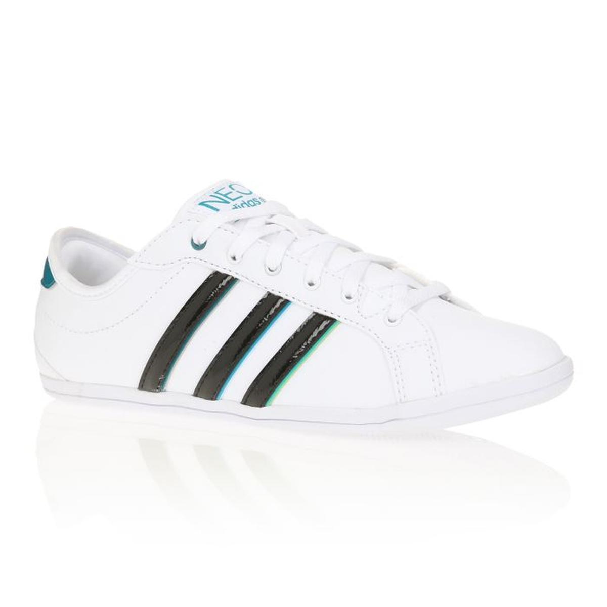 adidas neo blanche verte