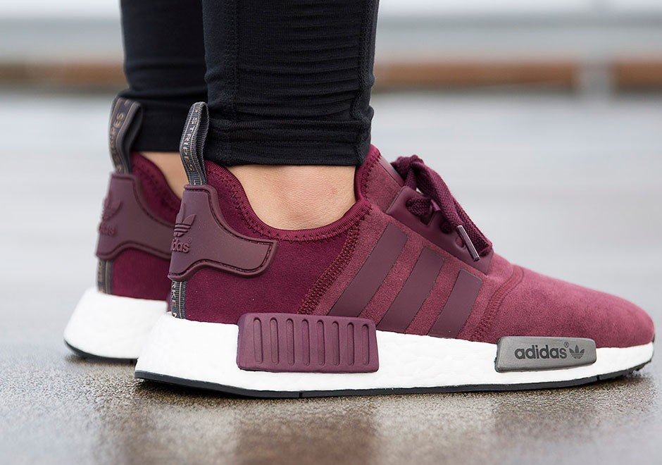 adidas nmd femme bordeaux rose noir58% OFF Adidas NMD red color