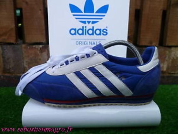 Les chaussures Adidas SL 72 de David Starsky (Paul Michael