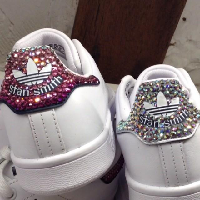 revendeur 96246 2169f adidas stan smith femme diamant