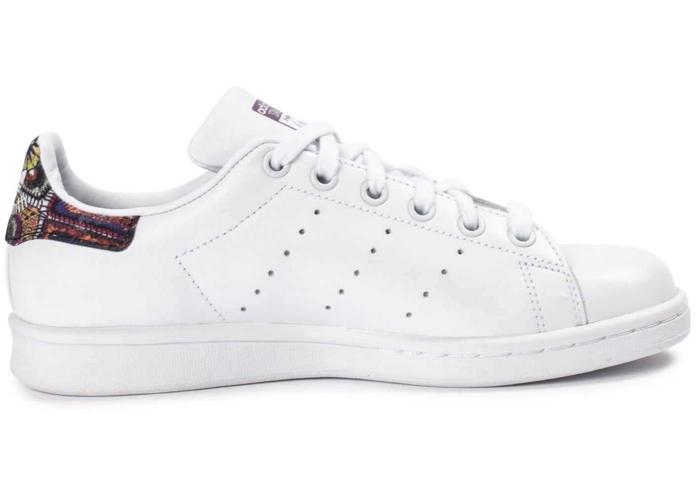 usine authentique spécial chaussure haute qualité adidas stan smith femme flowers