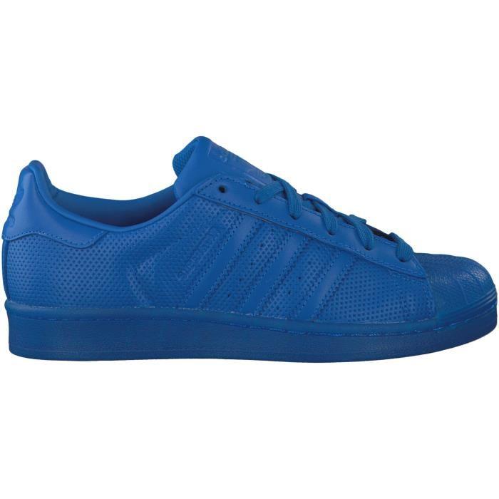 adidas superstar adicolor bleu