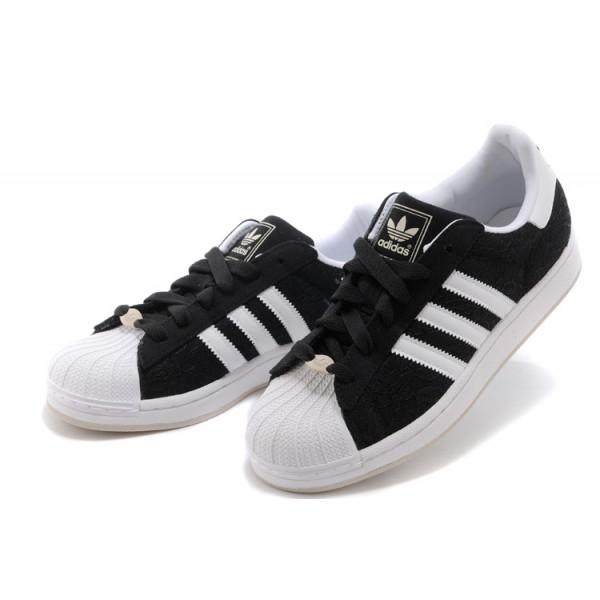 chaussure adidas noir et blanc
