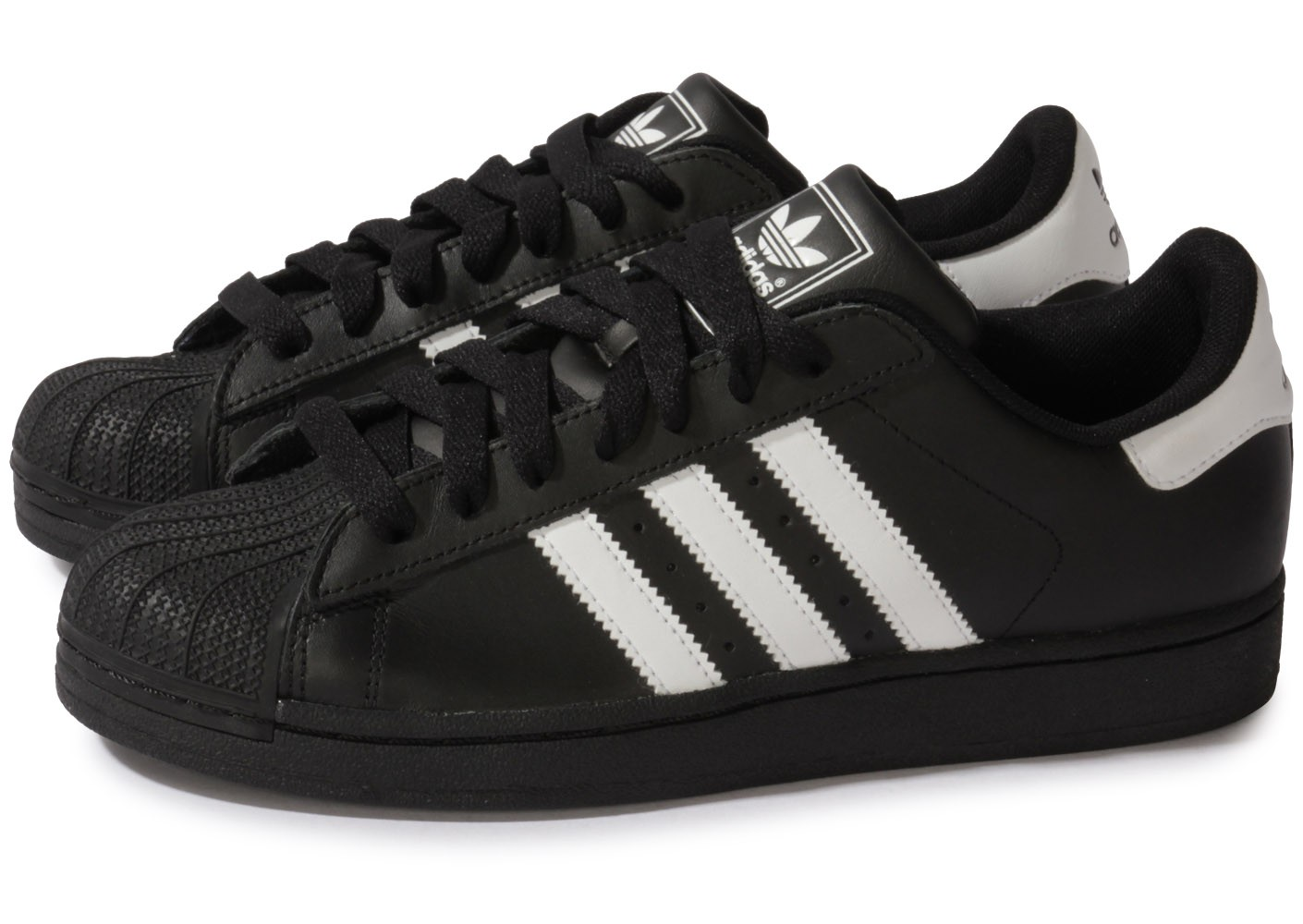 acheter en ligne 0b4cc bcf66 adidas superstar noir et rouge