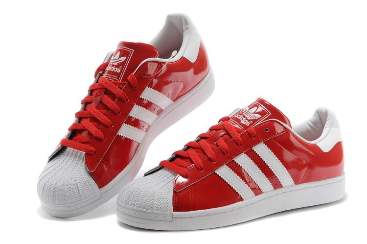 détaillant en ligne 3f431 ab73a adidas superstar rouge et blanc femme