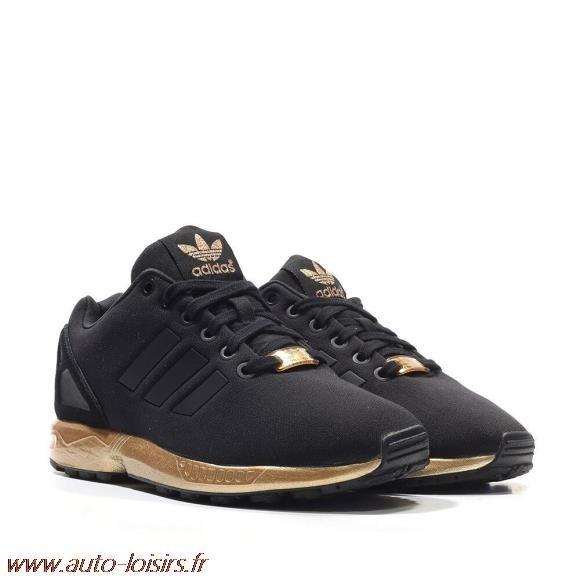 basket adidas zx flux noir femme