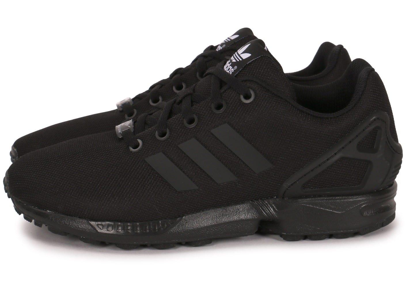 basket femme adidas zx flux noir