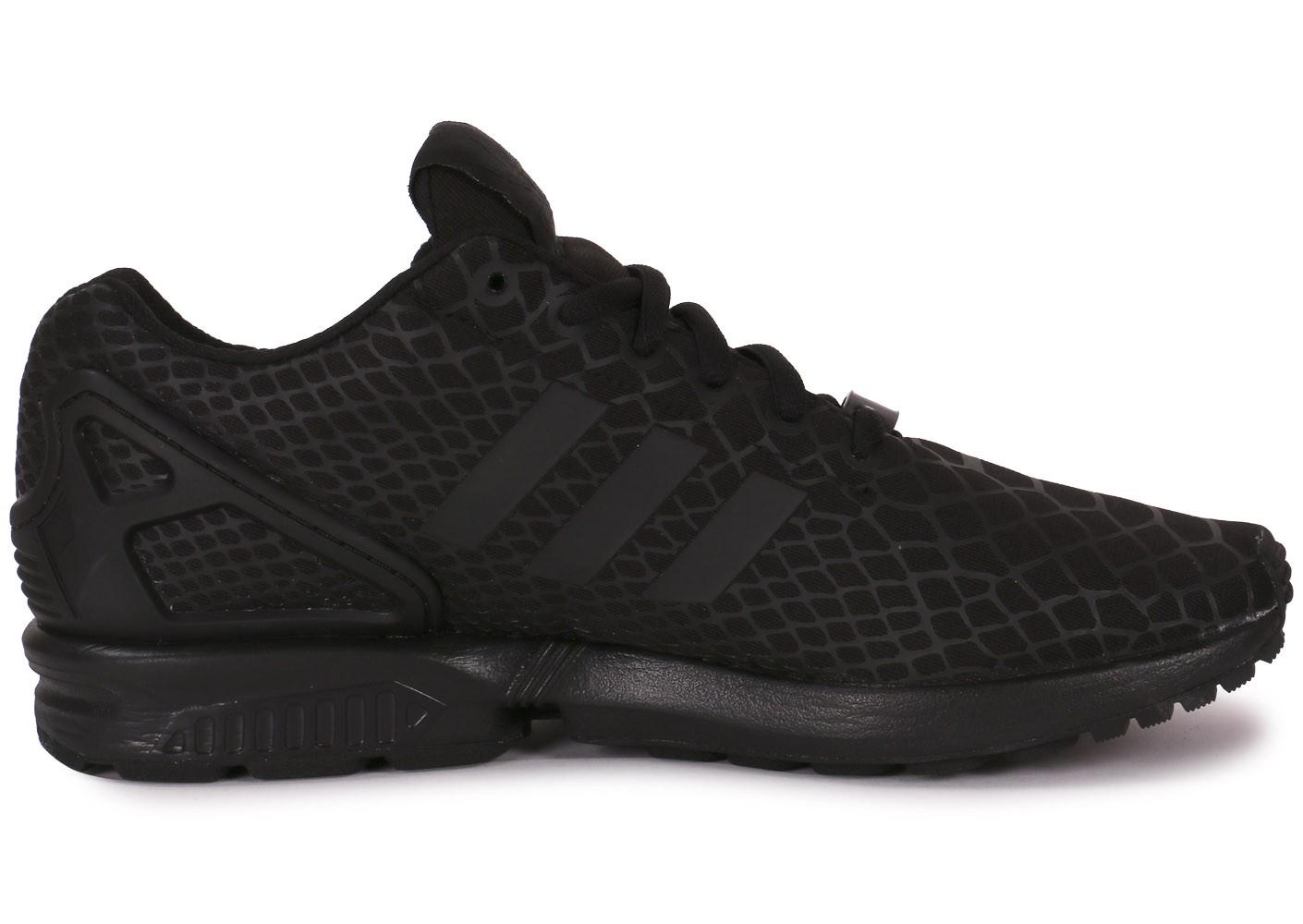 Chaussures homme Baskets Adidas Originals Zx Flux Noir Noir