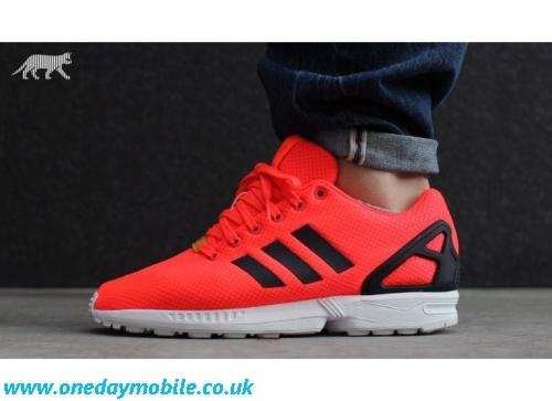 adidas zx flux orange