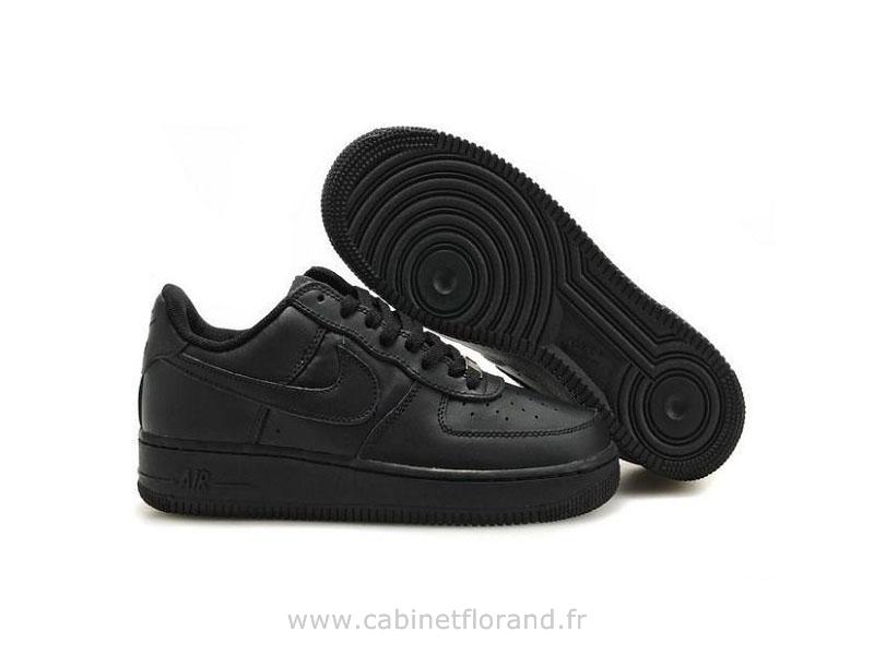 air force 1 noir chaussure femme