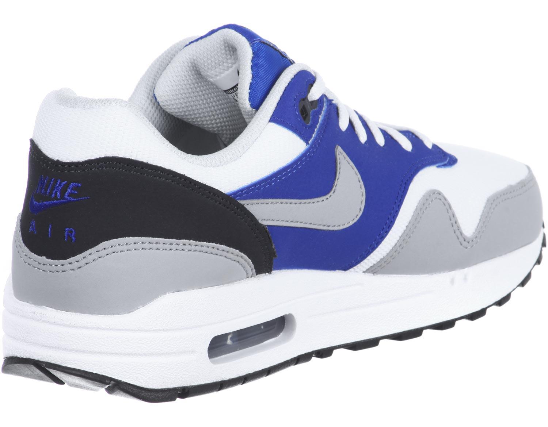 air max one blanc bleu