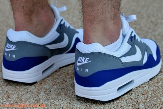 air max 1 gris bleu rose