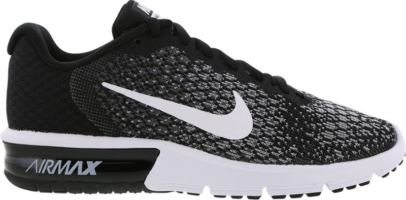 nike air max sequent femme 2 platine - blanc - gris loup