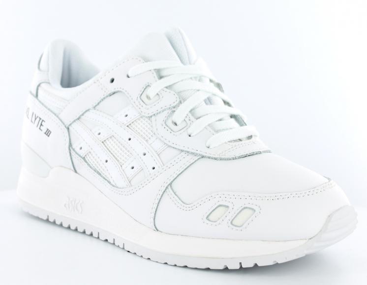 design de qualité 60785 6b75a asics gel lyte iii femme blanche