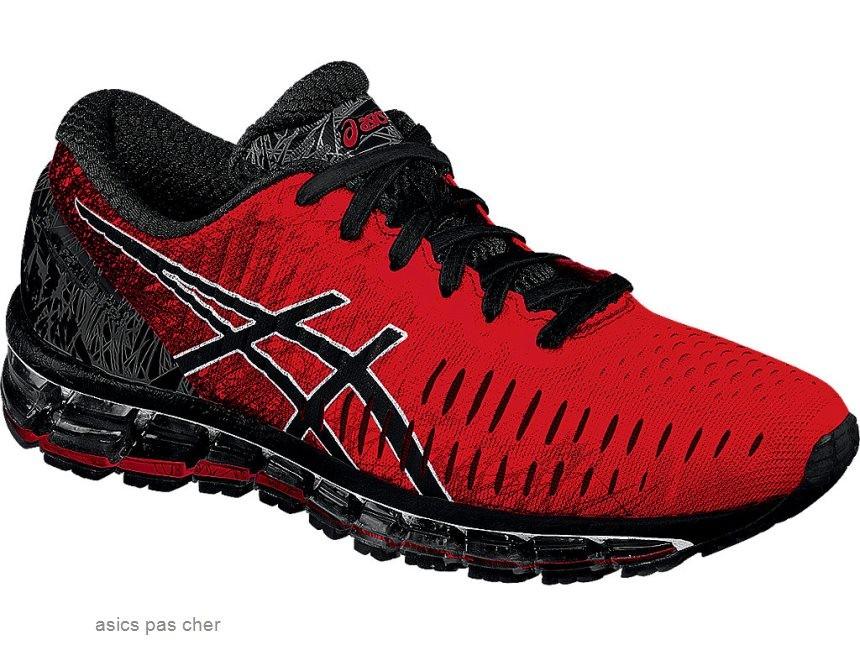 grand choix de 7debd 86614 asics running femme rouge