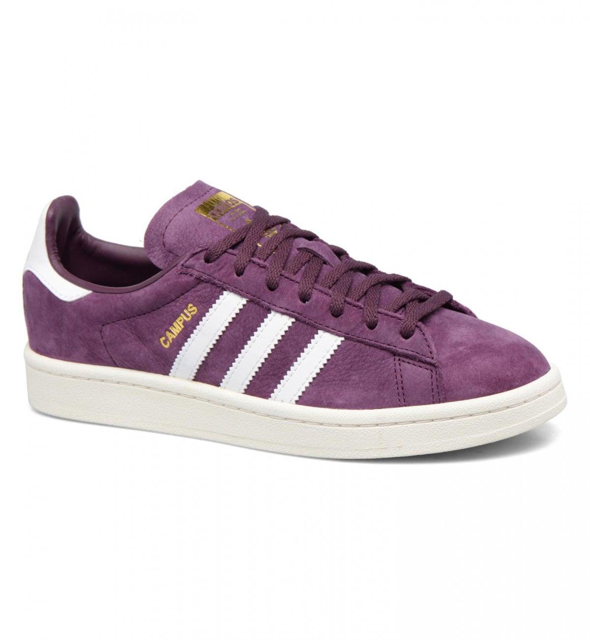 basket adidas femme violette