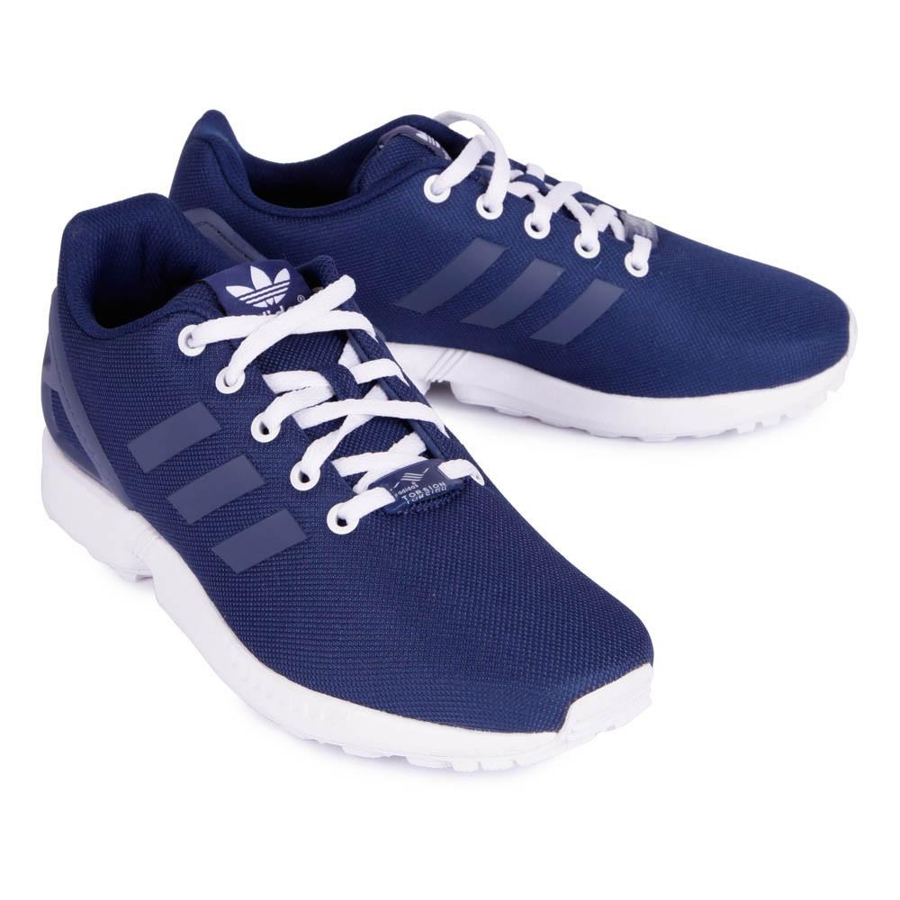 économiser 6c704 0f05b basket adidas zx flux bleu