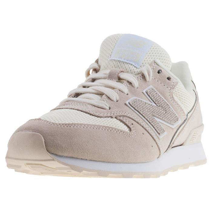 chaussures de sport dcb11 40018 basket femme new balance beige