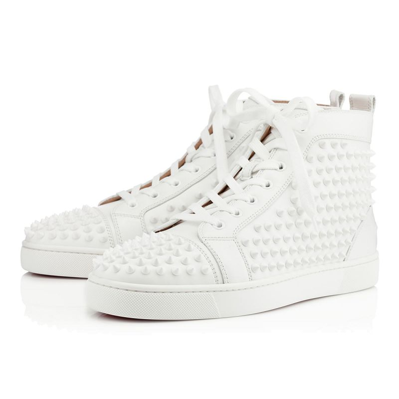basket homme style louboutin