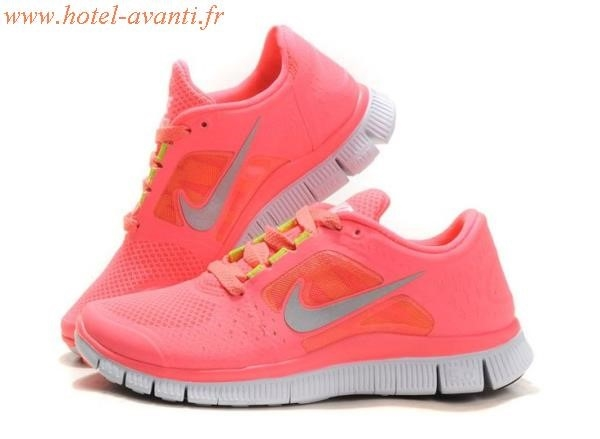 sélection premium 55001 ec711 basket nike free run femme rose