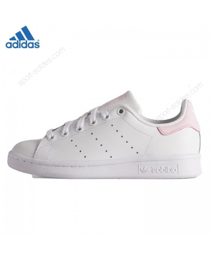 sélection premium 905ca 54a34 baskets adidas blanches roses