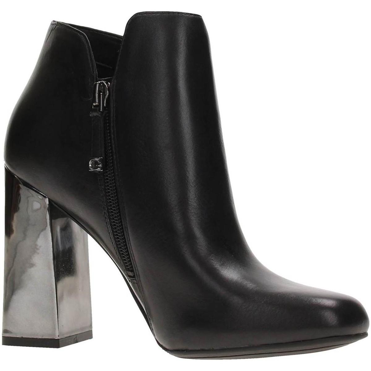 Femme Guess Boots Femme Declan SuedeGris Gris Bottines