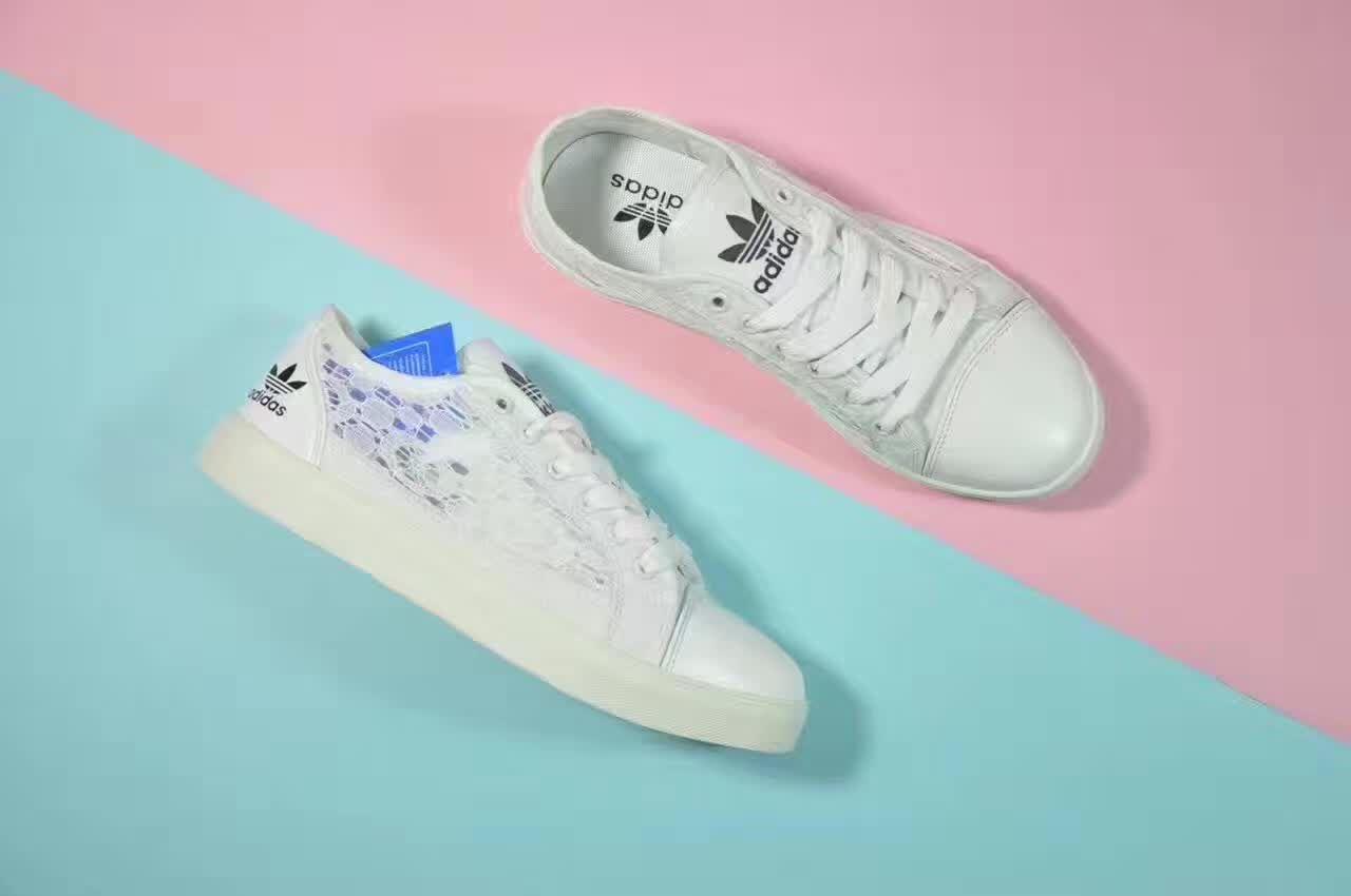 chaussure adidas femme blanche dentelle